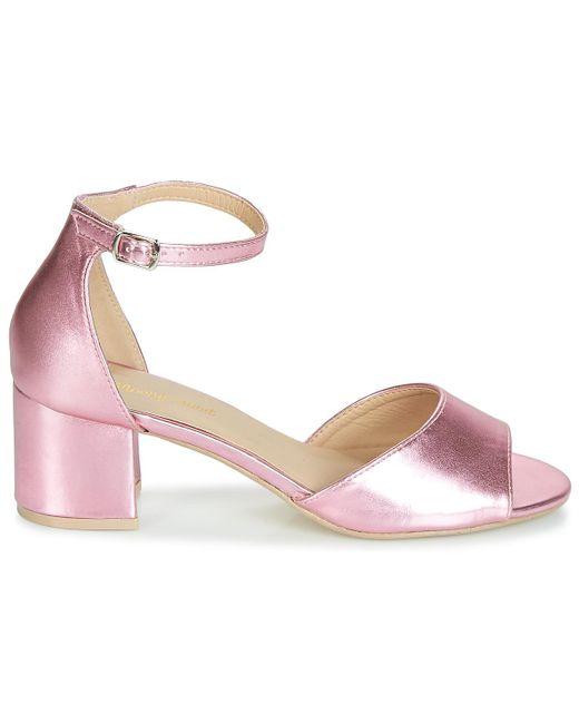 Moony Mood Sandalen Indrette in het Pink