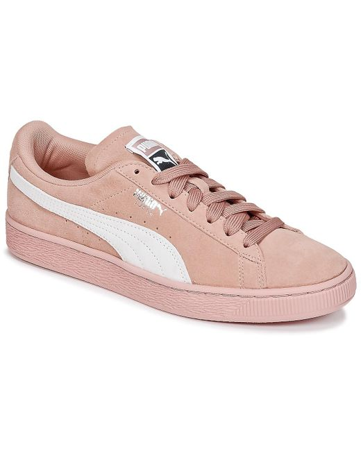 PUMA Lage Sneakers Suede Classic W's in het Pink