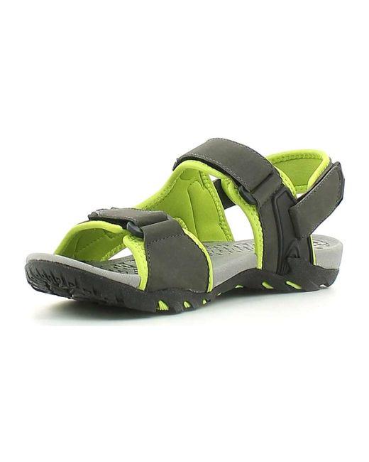 ... Lumberjack - Sm30706 001 S03 Sandals Man Verde Men's Sandals In Green  for Men - Lyst