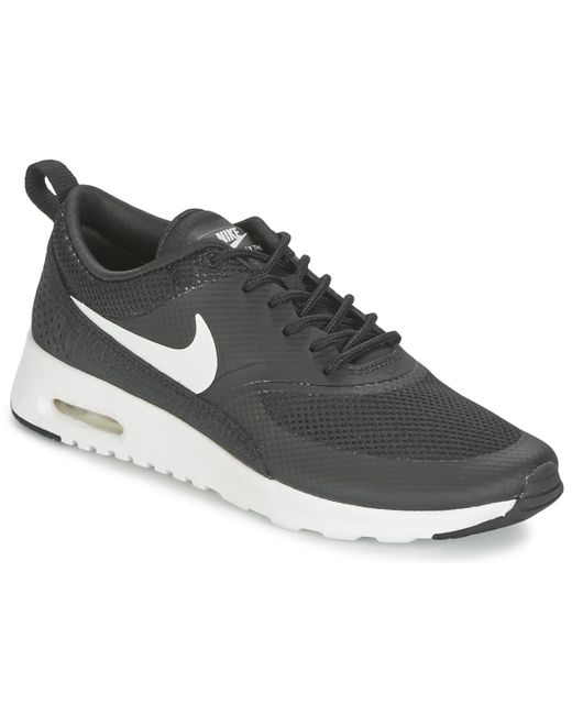 buy online acd87 cdb24 Nike - Air Max Thea W Women s Shoes (trainers) In Black - Lyst ...