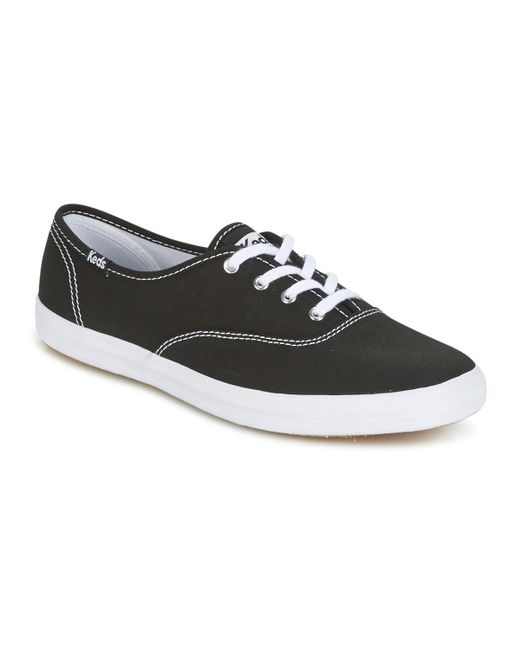 Keds - Champion Core Canvas Women's Shoes (trainers) In Black - Lyst