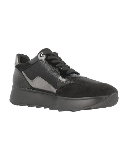 Womens D Gendry a Trainers, Grey Geox