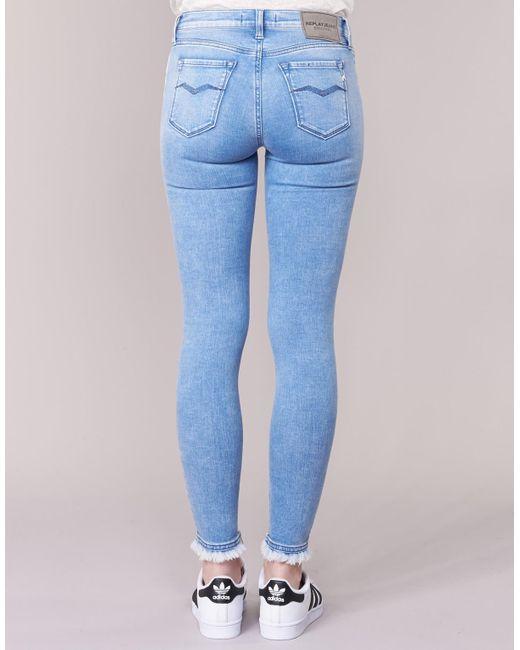 Replay 7/8 Jeans Joi in het Blue