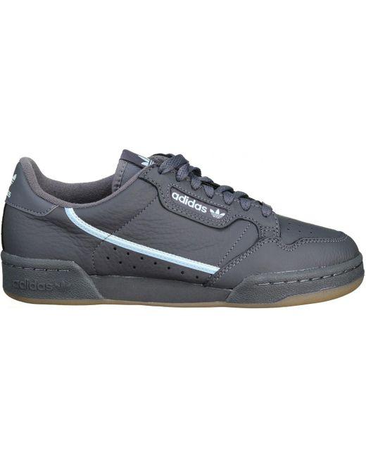 Basket Continental 80 hommes Chaussures en Noir adidas pour homme ...