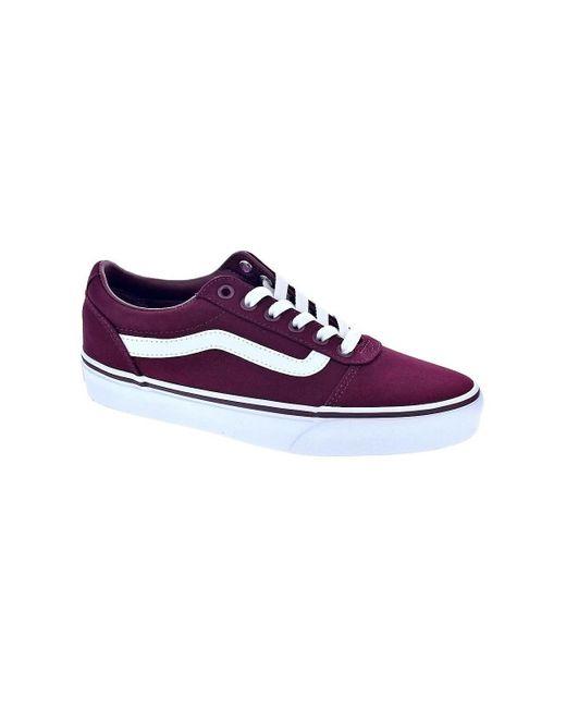 Ward Chaussures Vans en coloris Marron - Lyst