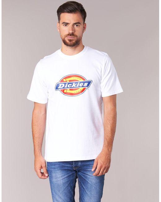 Dickies Horseshoe - T-shirt in het White voor heren