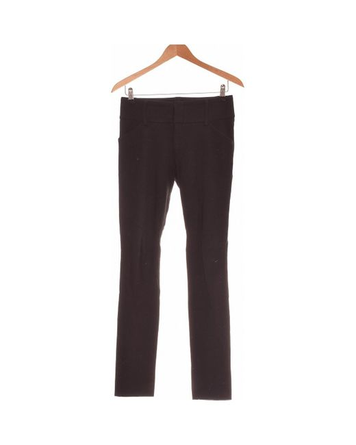 Pantalon Slim Femme 36 - T1 - S Pantalon Tara Jarmon en coloris Black