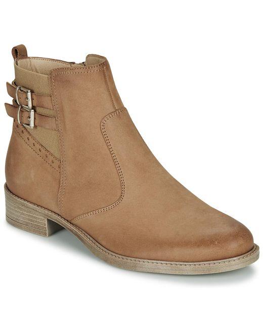 Boots André en coloris Brown