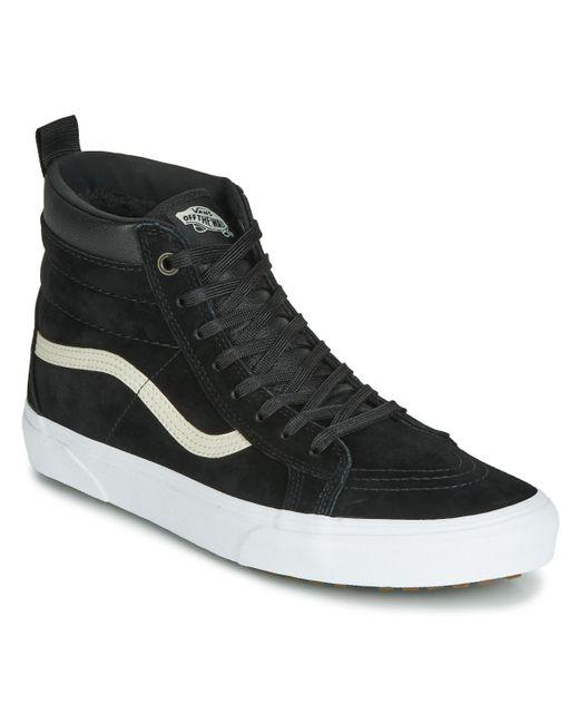 SK8-HI Chaussures Vans pour homme en coloris Noir - Lyst