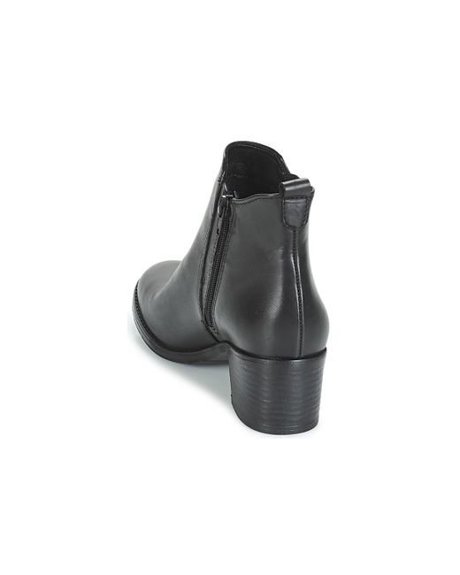 709fd94d8f7 Tamaris Carad Low Ankle Boots in Black - Lyst
