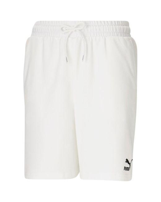 533066 Short PUMA en coloris Blanc - Lyst