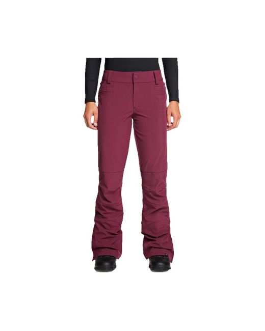 Pantaloni Snowboard Creek di Roxy in Purple