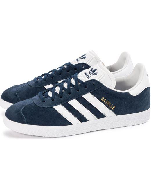 Gazelle he hommes Chaussures en bleu adidas pour homme en coloris ...