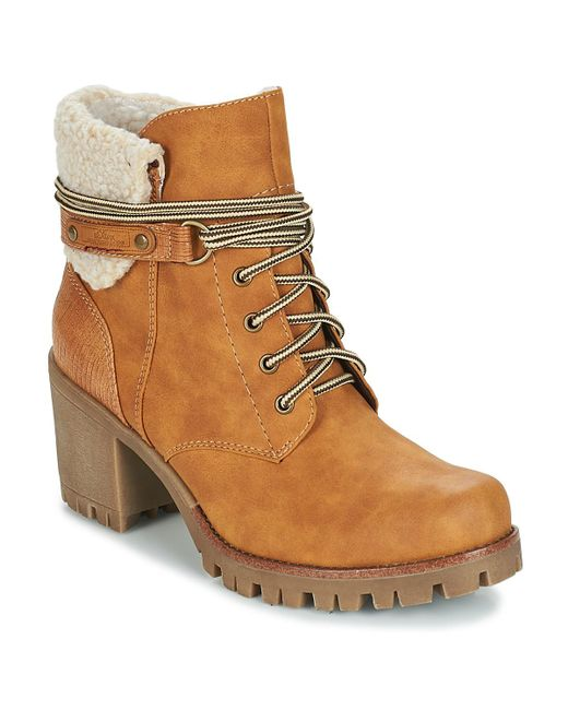 Lyst Koper Low S Boots in Beige Ankle In Natural Women's Oliver vSS5wqOxF