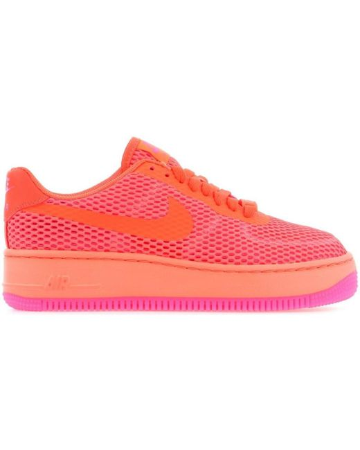 huge selection of 01349 177e4 Wmns W Af1 Low Upstep Br 833123-800 Women's Shoes (trainers) In Orange