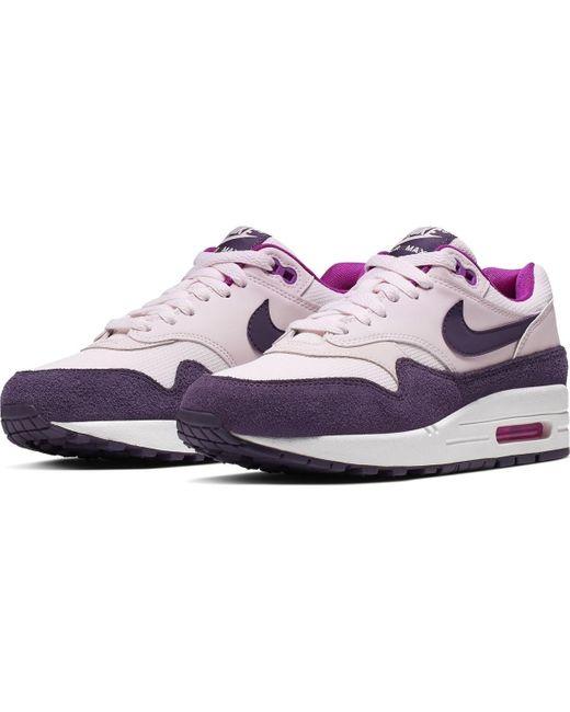 Baskets WMNS Air Max 1 - 319986 Chaussures Nike en coloris Violet ...