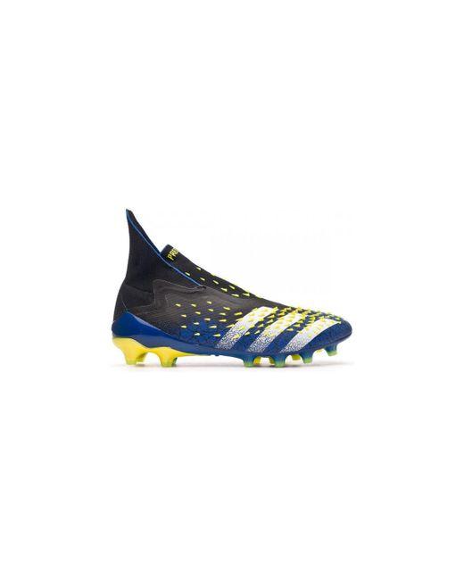 Predator Freak + AG Chaussures de foot Adidas pour homme en coloris Blue