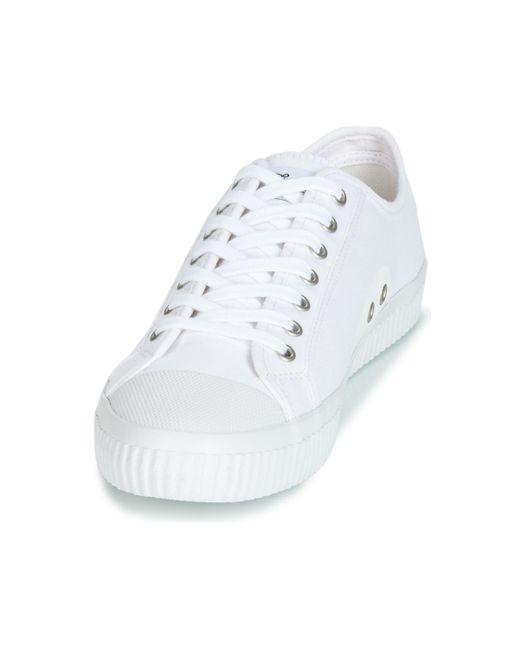 Jim Rickey Lage Sneakers Trophy in het White voor heren
