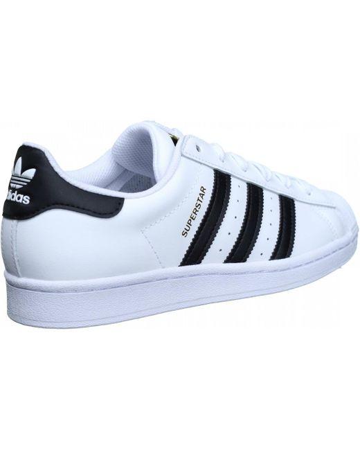 Basket Superstar Baskets adidas pour homme en coloris Blanc - Lyst
