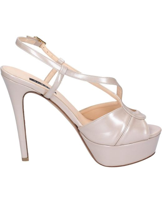 BK843 Chaussures escarpins Albano en coloris Natural