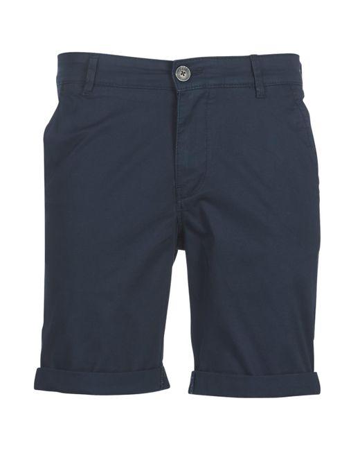 SLHSTRAIGHTPARIS Short SELECTED pour homme en coloris Blue