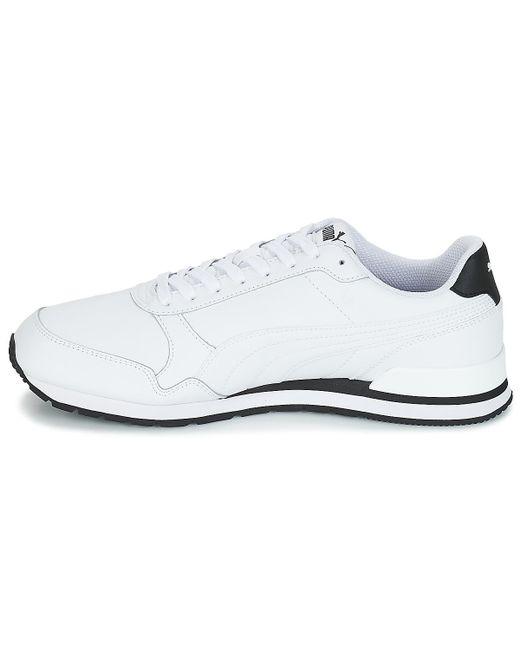 St Blanc Pour Hommes En Puma V2 wht Chaussures Runner Ful Homme Y6gfyIbv7