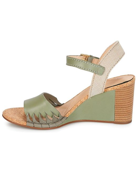 213fca810 ... Clarks - Green Spiced Poppy Sandals - Lyst ...