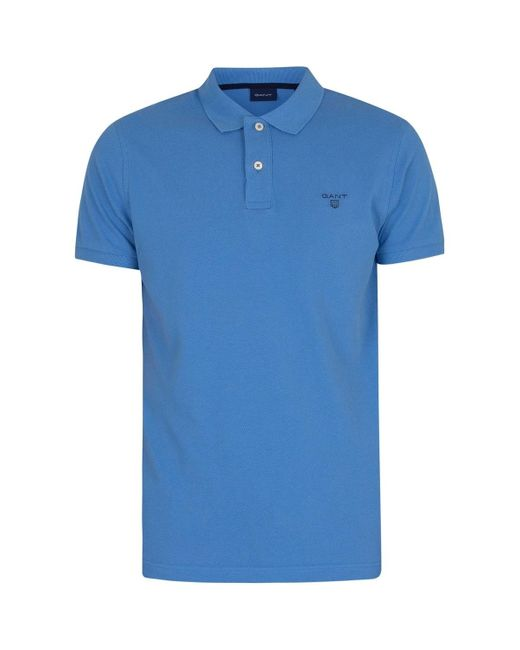 Le polo d 39;été Gant pour homme en coloris Blue
