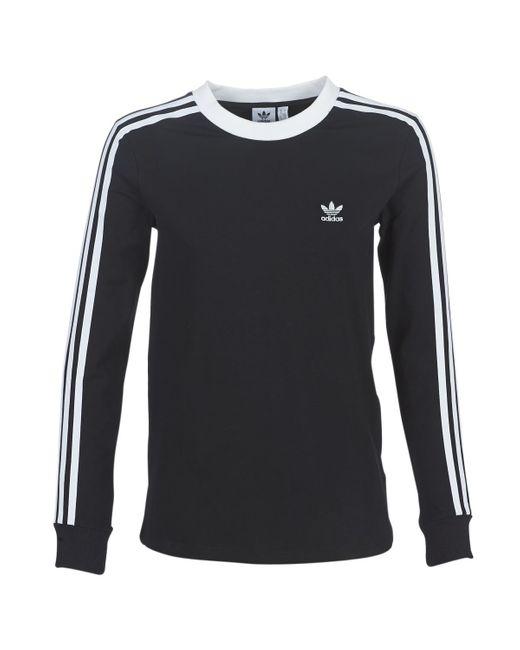 3 STR LS TEE T-shirt Adidas en coloris Black