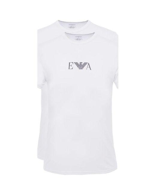 T-Shirts 111267 CC715 - Hombres Armani de hombre de color White