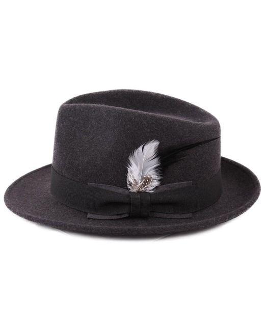 Plumes Pour Chapeau 6 Chapeau Classic Italy en coloris Black