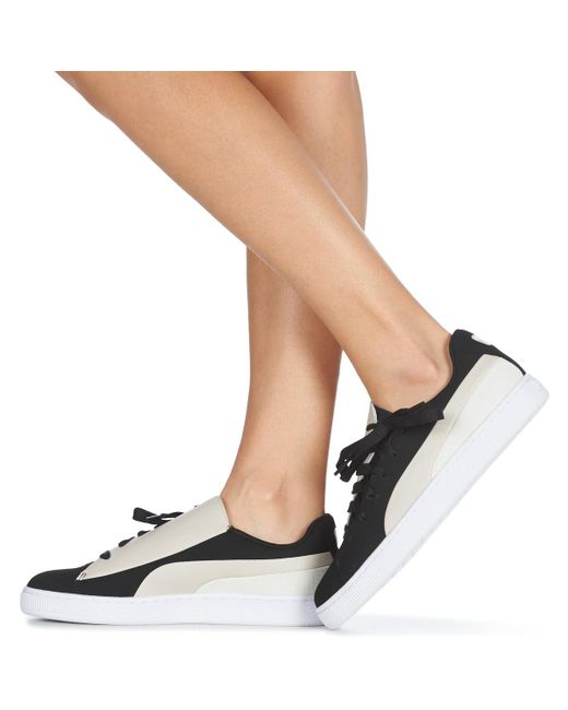 PUMA Wn Basket Crush Paris.silv Women's Shoes (trainers) In