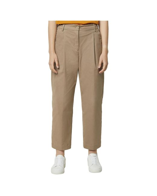 French Connection Natural Pants With Clips Sias