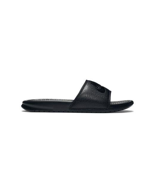 df531f96d Nike Benassi Jdi 343880 090 Men's In Black in Black for Men - Lyst