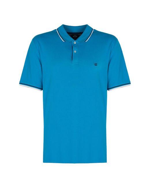 Champion Polo Shirt Korte Mouw in het Blue voor heren