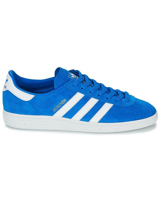 adidas Munchen Men's Shoes (trainers) In Blue for Men Lyst
