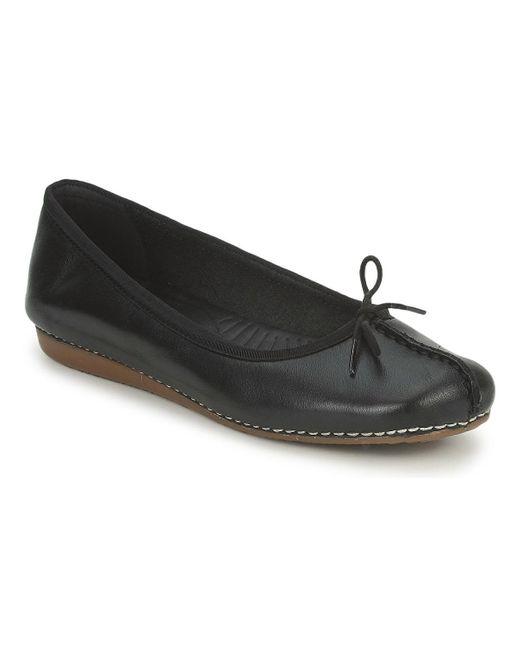 Clarks Black Freckle Ice Shoes (pumps / Ballerinas)