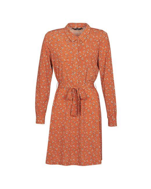 Vero Moda Korte Jurk Vmtoka in het Orange