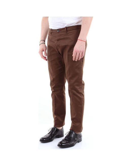 Nine:inthe:morning 9FW19EWS45 Chinots homme de coloris marron