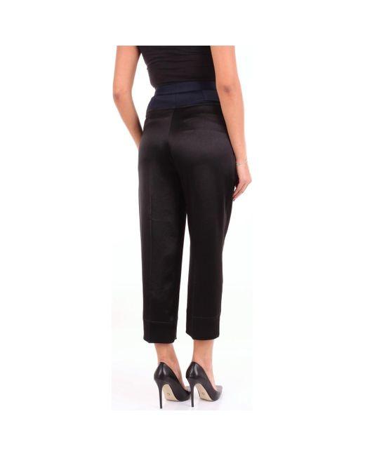 V03098924 femmes Pantalon en Multicolor Cedric Charlier en coloris Black