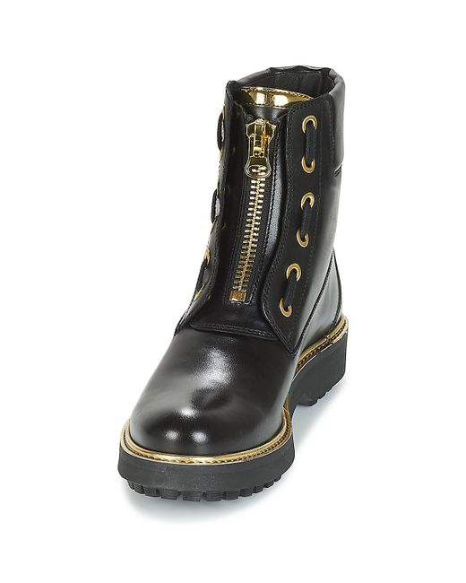 D Asheely Plus Women's Mid Boots In Black