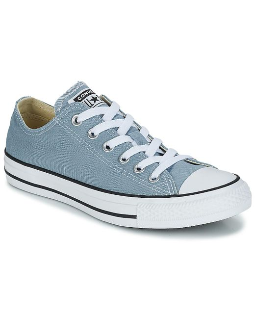 6868b4e78377 Converse - Chuck Taylor All Star Ox Men s Shoes (trainers) In Blue for Men  ...