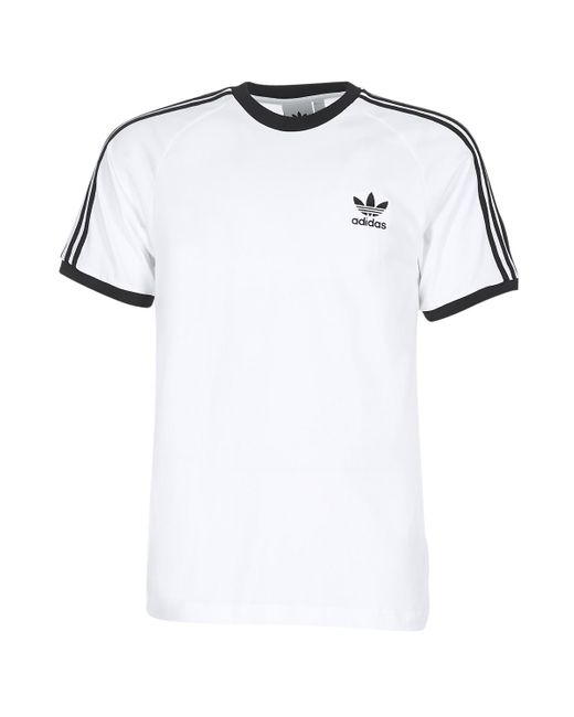 tee shirt homme adidas blanc