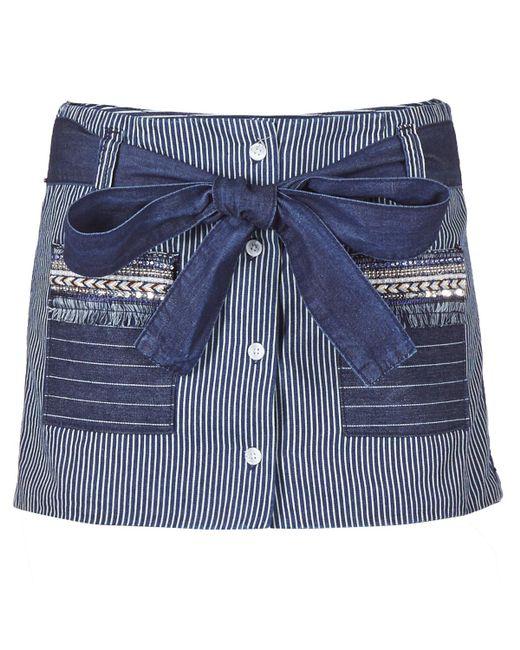 Desigual - Blue Creola Shorts - Lyst