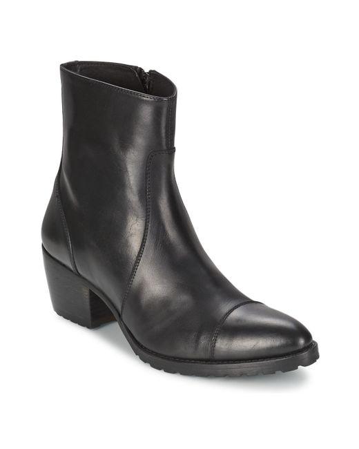 69d3ecc7d95 Aversa Women's Low Ankle Boots In Black
