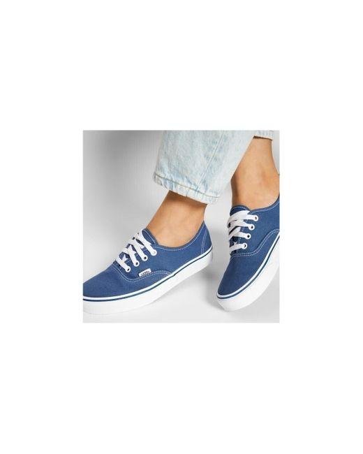 Authentic Chaussures Vans pour homme en coloris Bleu - Lyst