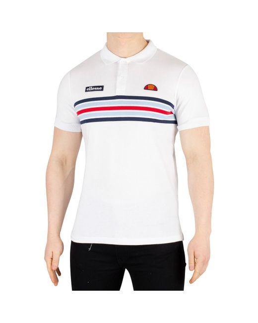 345859e1 Men's Pesaro Poloshirt, White Men's Polo Shirt In White