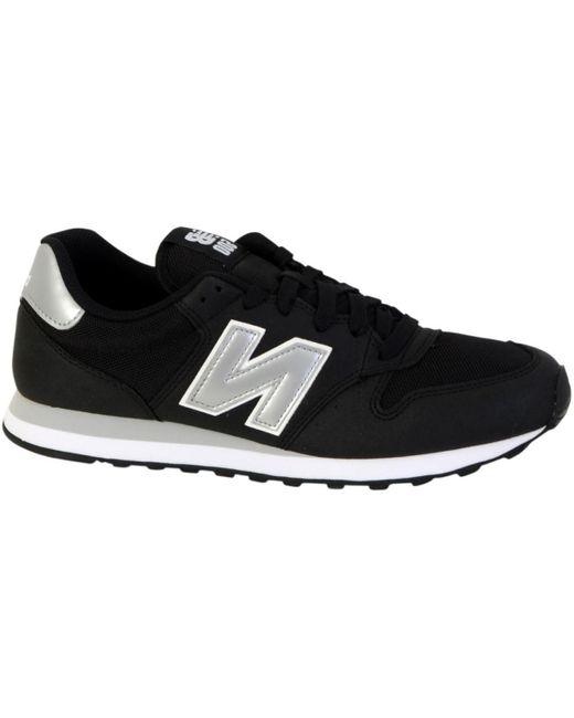 Basket GM500 Chaussures New Balance pour homme en coloris Noir - Lyst