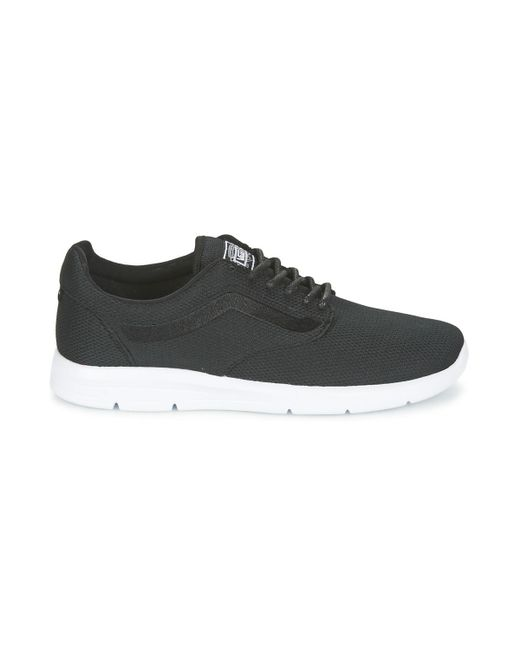 041a63911e9750 Vans Iso 1.5 + Men s Shoes (trainers) In Black in Black for Men - Lyst