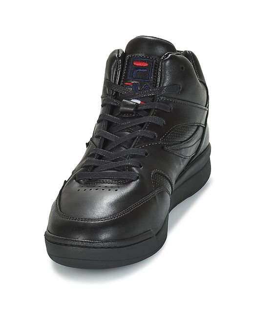 d7719dd8 Fila Pine Mid Shoes (trainers) in Black for Men - Save 38% - Lyst